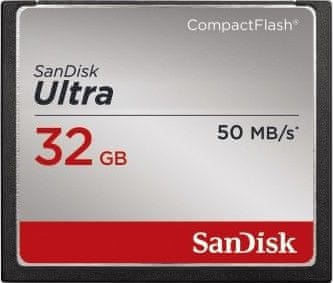 SanDisk Compact Flash 32GB Ultra 50 MB/s