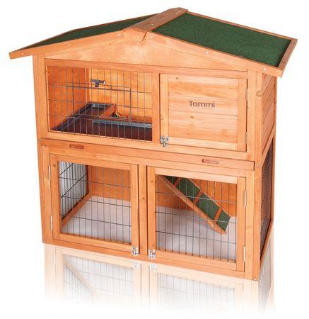 Tommi Epona - domek dla królików i gryzoni - 102 x 52 x 100 cm