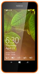 Nokia Lumia 630, DualSIM, oranžová + černý kryt