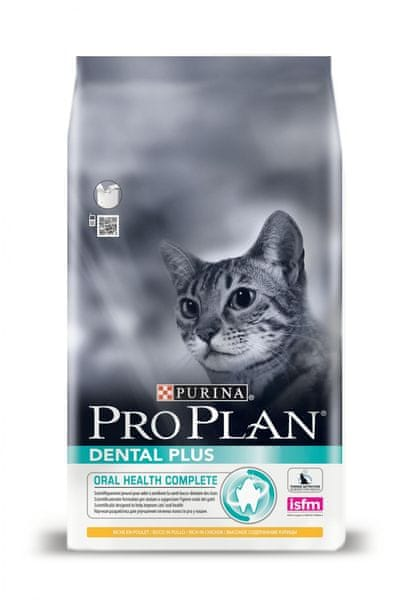 Purina Pro Plan Cat Dental Plus kuře 3 kg