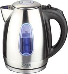 Adler grelnik vode 1,7 l, 2000W, jeklo, AD1223