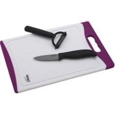 Lamart Keramický nôž, škrabka a lopárik