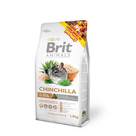 Brit hrana za činčile Complete, 1,5 kg