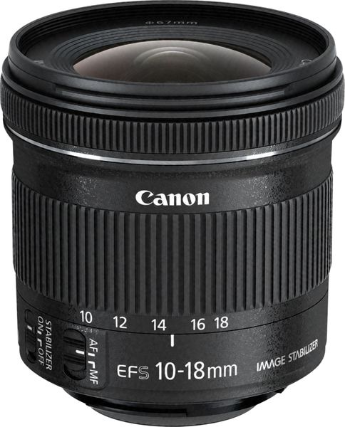 Canon EF-S 10-18 f/4,5-5,6 IS STM