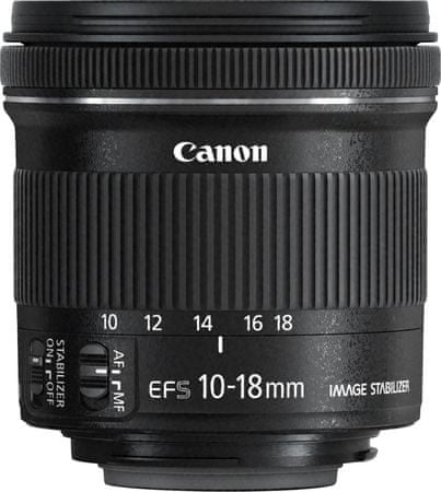 Canon objektiv EF-S 10-18mm f/4.5-5.6 IS STM