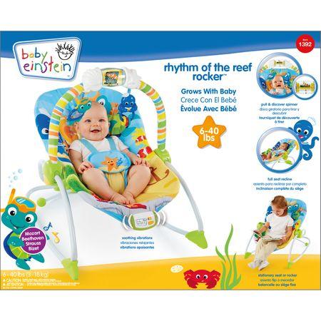 331acf021a48 Baby Einstein Lehátko vibrační Rhythm of the Reef Rocker (do 18 kg ...