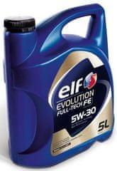 Elf motorno ulje Evolution Fulltech FE 5W-30, 5 L (DPF)