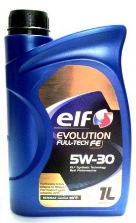 Elf motorno olje Evolution Fulltech FE 5W-30, 1 L