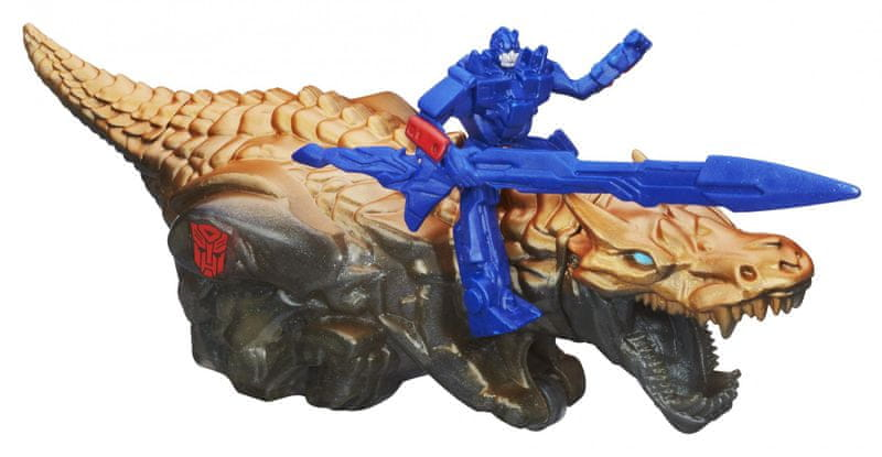 Transformers 4 na zvířatech Optimus Prime a Grimlock