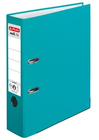 Herlitz registrator maX.file protect A4 80 mm, turkizen