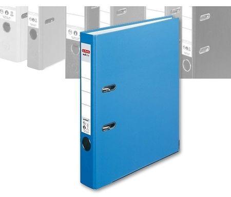 Herlitz registrator maX.file protect A4 50 mm, svetlo moder