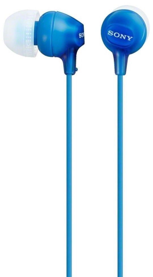 Sony MDR-EX15LPL sluchátka špunty (Blue)
