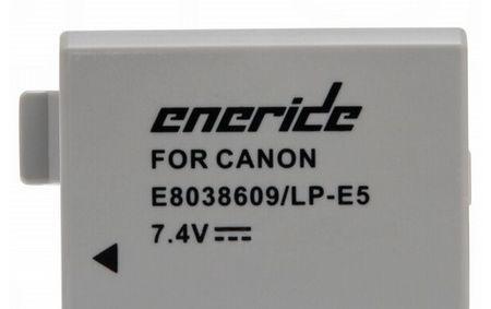 Eneride baterija LP-E5, za Canon