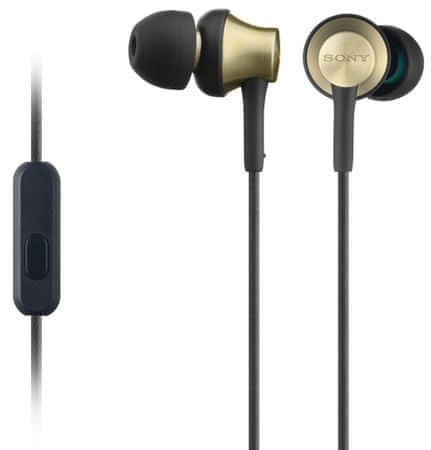 SONY MDR-EX650AP Fülhallgató, Arany