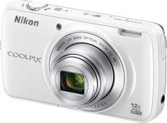 Nikon Coolpix S810c White + 16 GB micro SD karta ZDARMA!