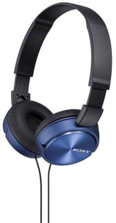 SONY MDR-ZX310L Fejhallgató, Kék