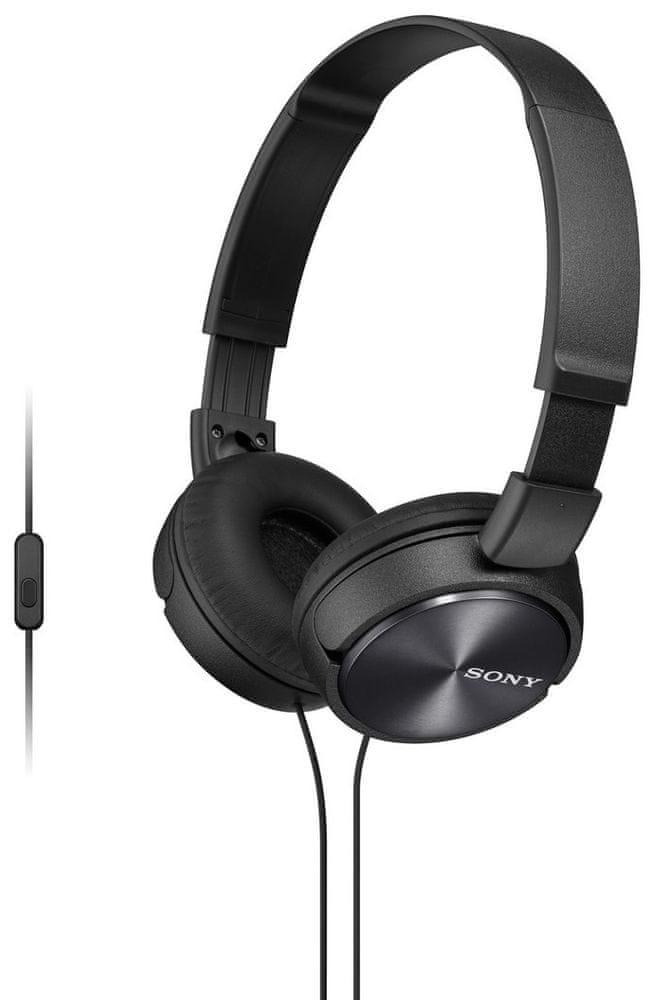 Sony MDR-ZX310APB sluchátka s mikrofonem (Black)