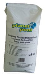 Planet Pool pesek filtrirni gr. 0,4 - 0,8 25 kg QW