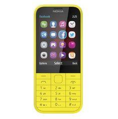 Nokia 225 Dual Sim, żółta