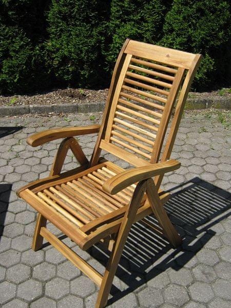 V-Garden Zahradní židle King set 1ks