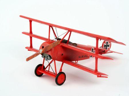 REVELL ModelSet lietadlo 64116 - FOKKER DR.1Triplane (1:72)