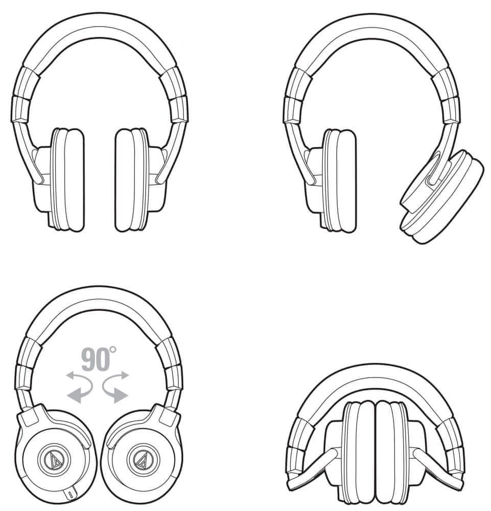 Audio-Technica ATH-M40x sluchátka