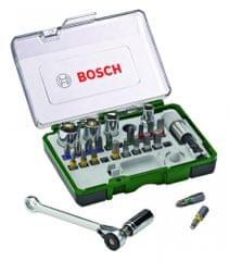 Bosch 27dílný set s ráčnou