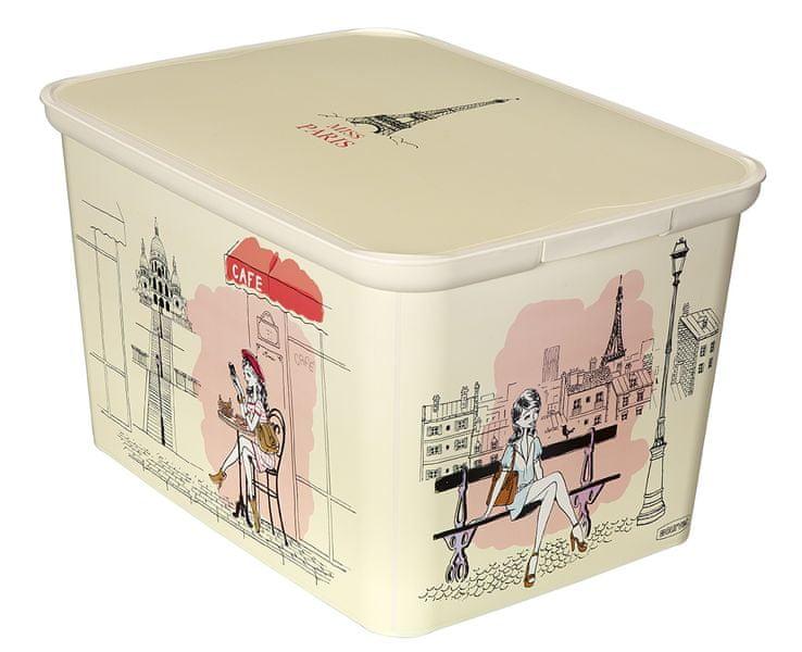 Curver Úložný box AMSTERDAM S Miss Paris