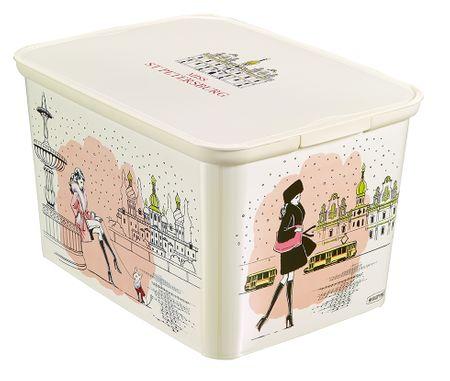 Curver škatla za shranjevanje Amsterdam Deco's S Miss St Petersburg