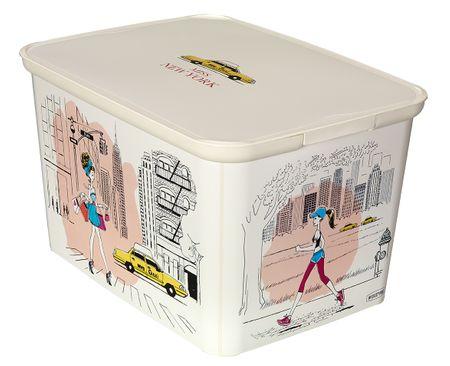 Curver škatla za shranjevanje Amsterdam Deco's S Miss New York