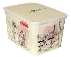 CURVER AMSTERDAM Miss Paris, L tároló doboz