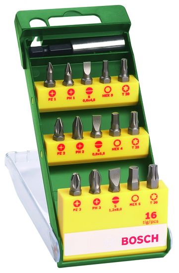 Bosch komplet vijačnih nastavkov (2607019453) 16kos