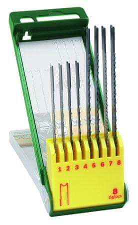Bosch 8 dielna kazeta pílových listov na drevo/ kov/ plast (U-stopka)