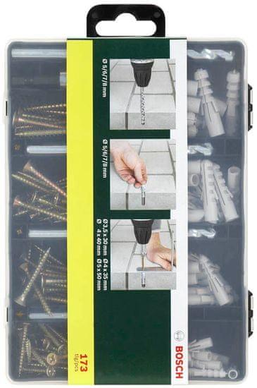 Bosch 173-delni pritrdilni komplet (2607019511)