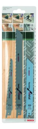 Bosch Sada různých pilových plátků 3 Ks