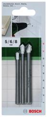 Bosch Vrtáky na obklady a dlažby SET 5,6,8 mm