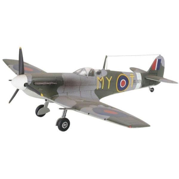 Revell ModelSet letadlo 64164 - Spitfire Mk. V (1:72)