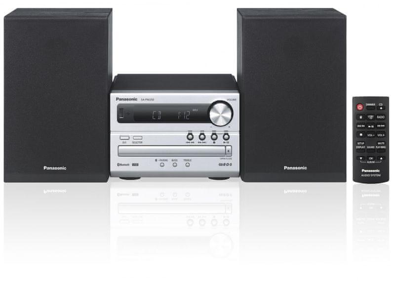 Panasonic SC-PM250EC-S (Silver) - II. jakost