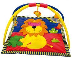Canpol Babies Mata edukacyjna - Siedzący lew