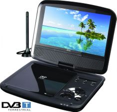 ECG DVP 9909 HD DVB-T Hordozható DVD lejátszó