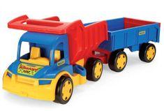 Wader Gigant Truck tovornjak s prikolico