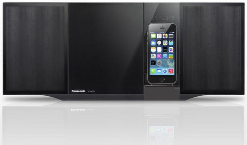Panasonic SC-HC49EG-K, černá
