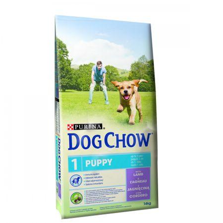 Purina Dog Chow hrana za pasje mladičke, jagnjetina, 14 kg