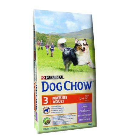 Purina Dog Chow sucha karma dla psa Mature Adult Lamb 14 kg