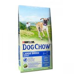 Purina Dog Chow hrana za odrasle pse velikih pasem, puran, 14 kg