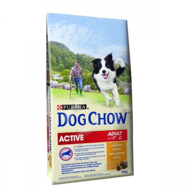 Purina Dog Chow Active Chicken 14 kg