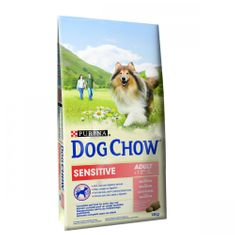 Purina Dog Chow hrana za odrasle pse Sensitive, losos,14 kg