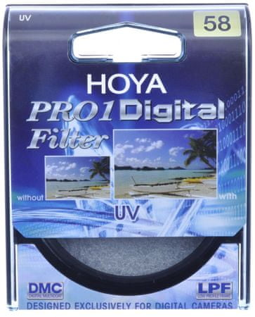 Hoya Filter UV Pro1 Digital - 58 mm