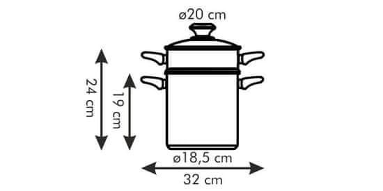 Tescoma Hrnec na špagety PRESTO s poklicí, 20 cm