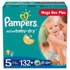 Pampers Active Baby 5 Junior - 132 szt